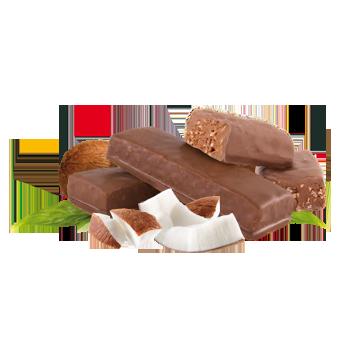 Chocolatey Coconut Bar